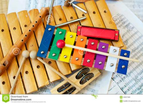 Colorful Orff Instrumentation!